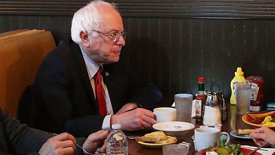 image for SAME OLD SCRIPT: Millionaire Politician Bernie Sanders Promises to 'End ...