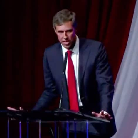 BETO TRASHES USA: O'Rourke Says 'America Founded on Racism and is Still Racist Today'