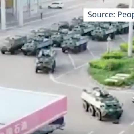DANGEROUS SITUATION: Beijing Moves Chinese Military to Hong Kong Border, City Braces for Chaos