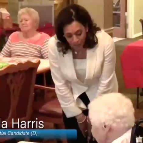 SENIOR SMACKDOWN! Nursing Home Resident SLAMS Kamala to Her Face, Says 'Leave Our Healthcare Alone'