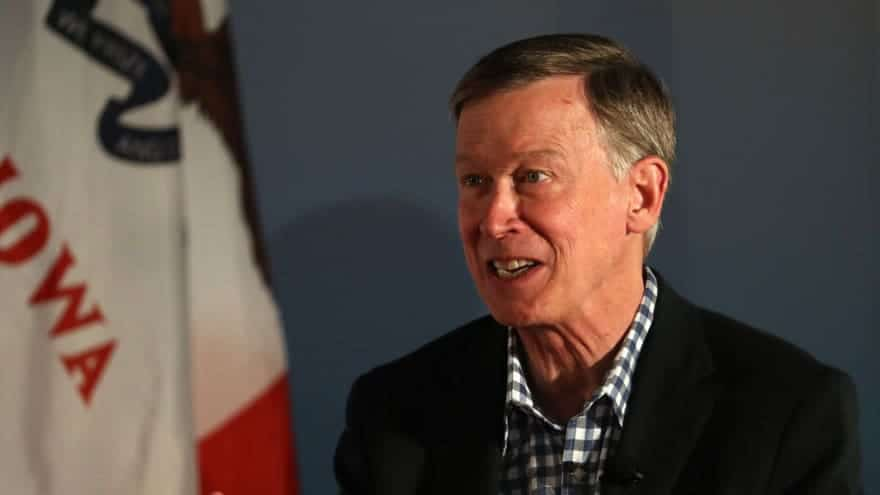 Partner Content - HE'S OUT: Colorado Gov. John Hickenlooper Quits 2020 Race for the White ...