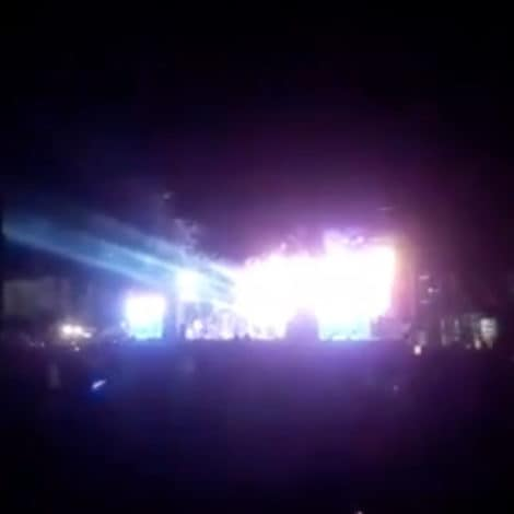VIDEO: Israel's 'Iron Dome' Defense System DESTROYS TWO ROCKETS Above Crowded Music Festival