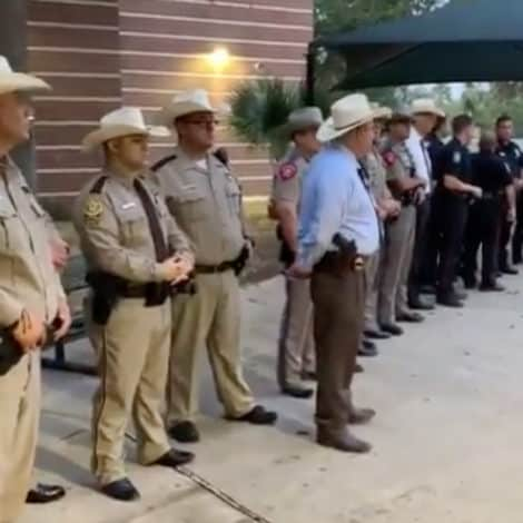 LINE OF DUTY: Police Department Greets Son of Slain Officer on His First Day of School