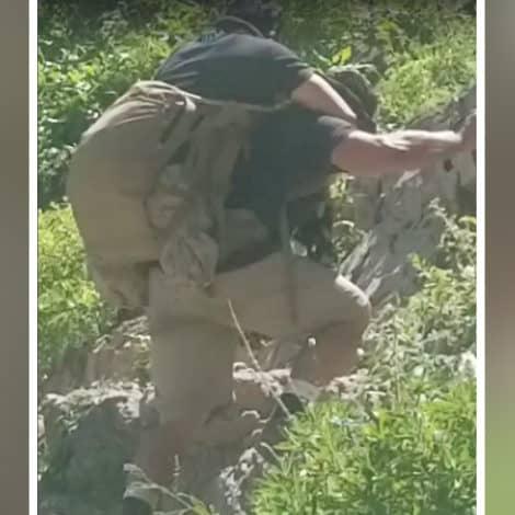 'BAND OF BROTHERS': Veteran Carries Fellow Marine to Utah Mountain Top
