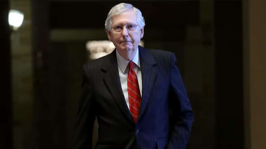 Partner Content - 'FANTASYLAND': McConnell Says It's 'Inconceivable' 67 Senators Will Vote...