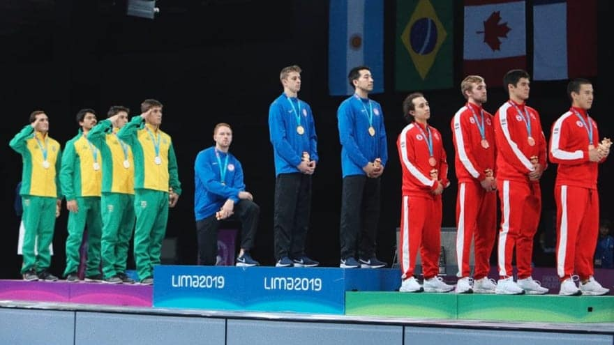 Partner Content - PODIUM PENALTY: American Fencer Placed on Probation after Kneeling Durin...