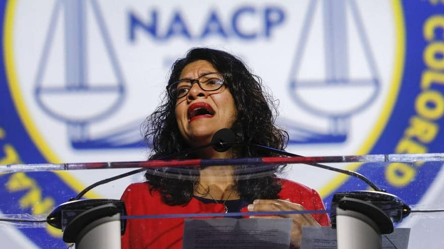 Partner Content - RASHIDA REACTS: Rep. Tlaib Rips Israel's 'Oppressive and Racist Policies...