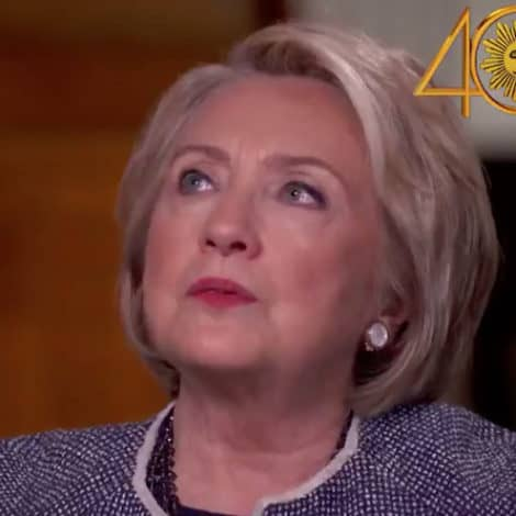 CLINTON RETURNS: Hillary Says 2016 Election Was 'Like Losing to a Corrupt Human Tornado'