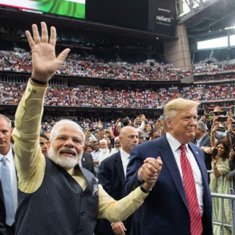 IT'S OFFICIAL: Indian Prime Minister Endorses President Trump in 2020, Delivers Speech in Houston