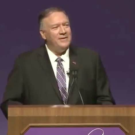 SEC. POMPEO: American's 'Glorious History' Should be 'Revered', Not 'Revised'