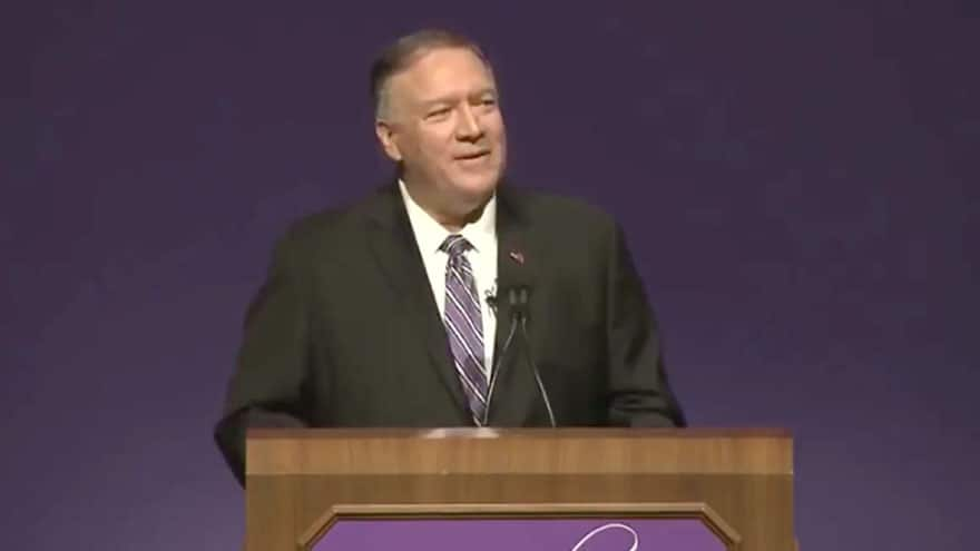 SEC. POMPEO: American's 'Glorious History' Should be 'Revered', Not 'Rev...