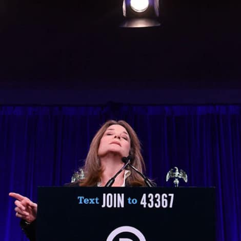 DARK FORCES? Marianne Williamson Deletes Tweet Saying 'The Mind' Can Stop Hurricanes