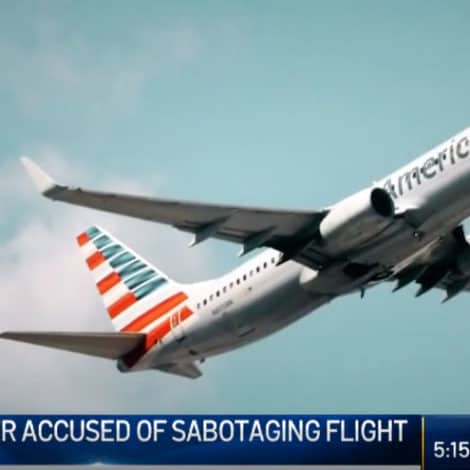 CRISIS AVERTED? Lawyers Say 'ISIS Material' Found on Airline Worker Who Allegedly Sabotaged a Jetliner