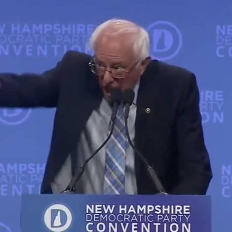 CRANKY BERNIE: Sanders Says Dems Must Come Together to Defeat 'Most Dangerous President' in History