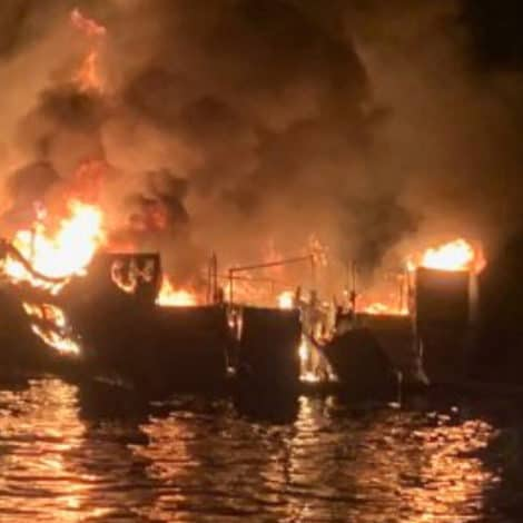 LABOR DAY HORROR: 34 People Feared Dead After Scuba Boat Catches Fire Off California