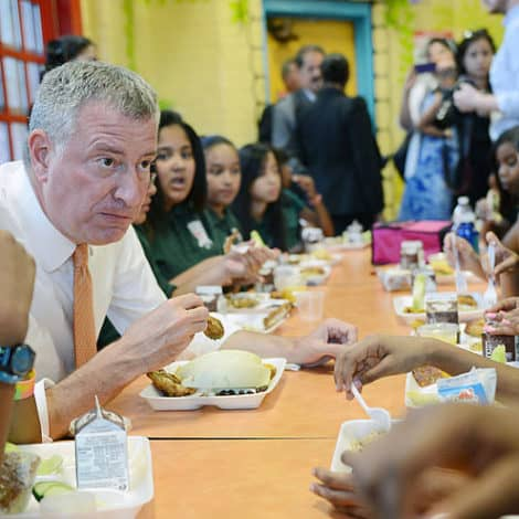 DE BLASIO'S NYC: New York City Allows 1 Million Students to Skip School for 'Climate Walk-Out'