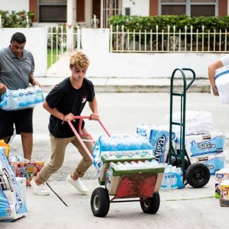 DORIAN STALLS: Hurricane Dorian Downgraded to Category 2, Slams Bahamas for 36 Hours