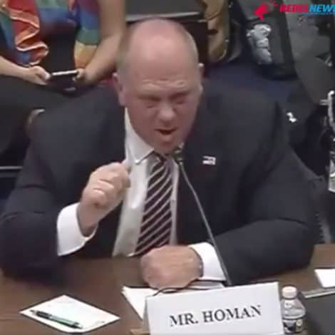 FIREWORKS: Ex-ICE Boss Tom Homan RIPS 'Hateful' AOC During Hearing, Says 'Do Your Job'