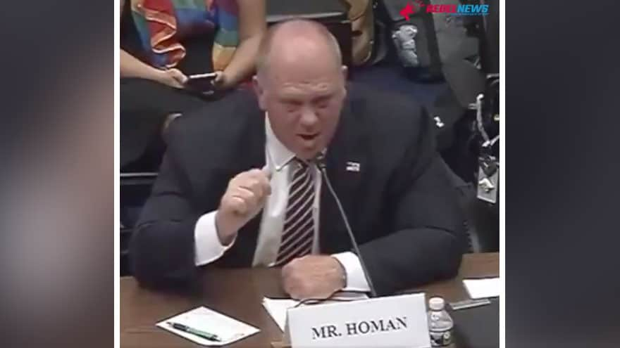 Partner Content - FIREWORKS: Ex-ICE Boss Tom Homan RIPS 'Hateful' AOC During Hearing, Says...