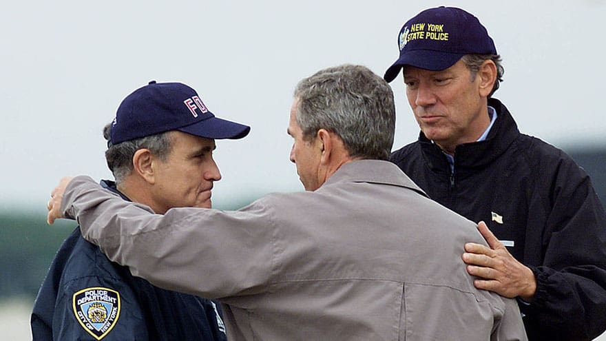 Partner Content - 'LET ME KILL HIM': Rudy Reveals First Words to President Bush After 9/11...