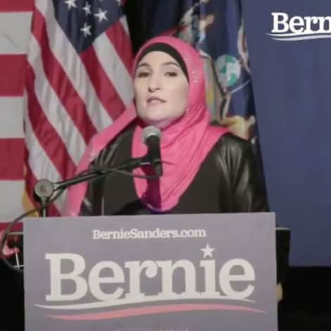 SOME ENDORSEMENT: Linda Sarsour Officially Backs Bernie for President of the USA