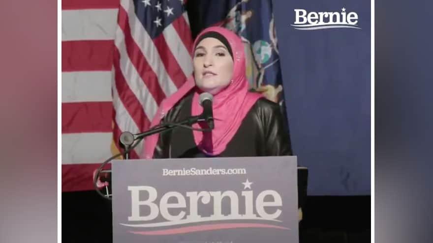 SOME ENDORSEMENT: Linda Sarsour Officially Backs Bernie for President of...