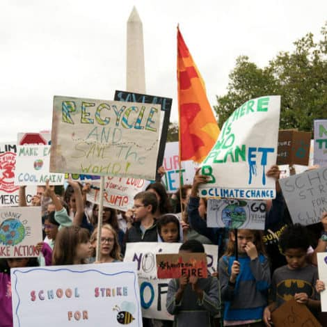 YOUTH REVOLT! Children Across the USA 'Walk-Out' of School to Protest Climate Change