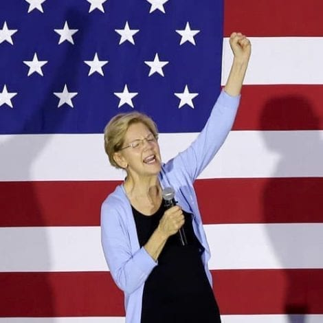 SOVIET STYLE: Elizabeth Warren Says She'll 'Do Whatever it Takes' to 'Stop Climate Crisis'