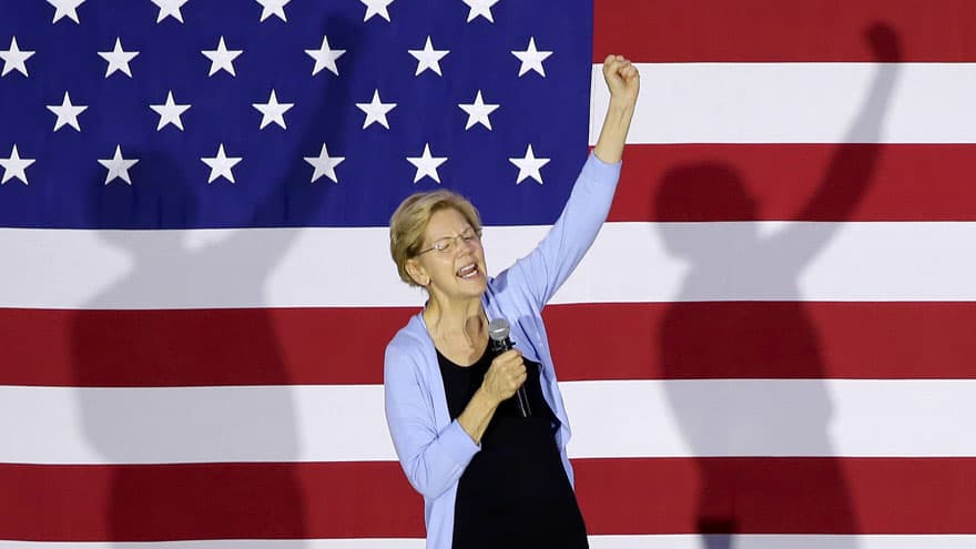 Partner Content - FIGHT NIGHT: Elizabeth Warren Slams 2020 Democrats for 'Hobnobbing with ...