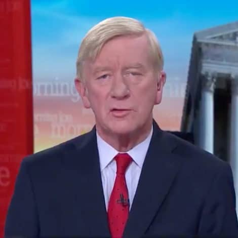 TOO FAR: Trump Challenger Bill Weld Claims the President Committed 'Treason,' Suggests 'Death Penalty'