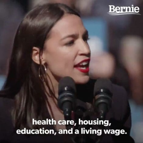 AOC: I Didn't Know Human Beings Had 'Inherent Value' Until I Heard Bernie Sanders