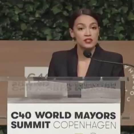 AOC: My 'Dreams of Motherhood Now Bittersweet' Because of Global Warming