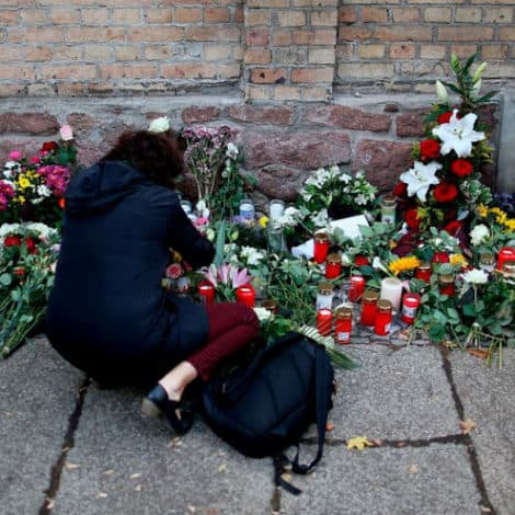 UPDATE: German Synagogue Shooter Planned 'Massacre,' Had Explosives in His Vehicle