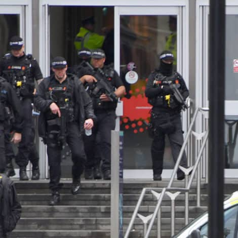 UK POLICE: Stabbing Spree at Manchester Shopping Center 'Likely Terrorism,' 3 Hospitalized