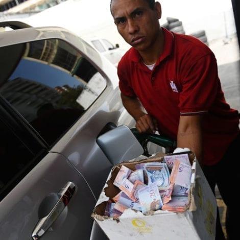 Socialist Utopia: Venezuela's Currency Near Worthless, Motorists Use Cigarettes to Buy Gasoline