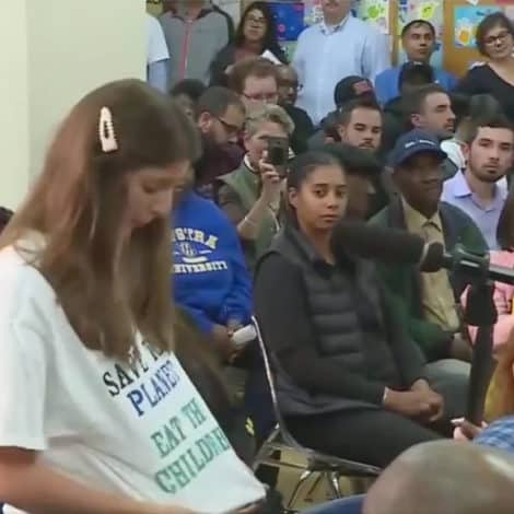 'WE HAVE TO EAT THE BABIES': Woman at AOC Town Hall Demands We 'Eat Babies' to Fight Climate Change