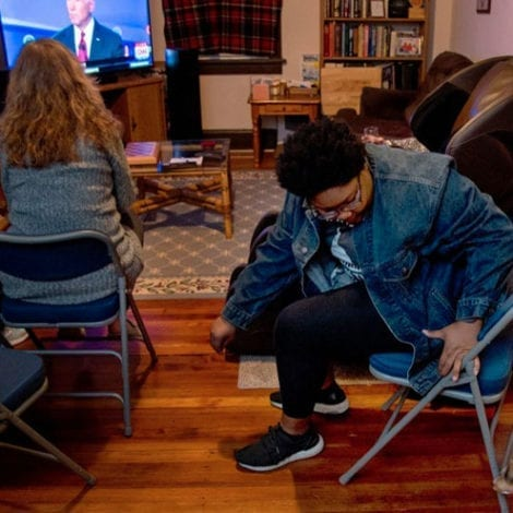 Bad Sign for Biden: Images Appear on Social Media of Joe Biden's Empty Watch Parties in Philly