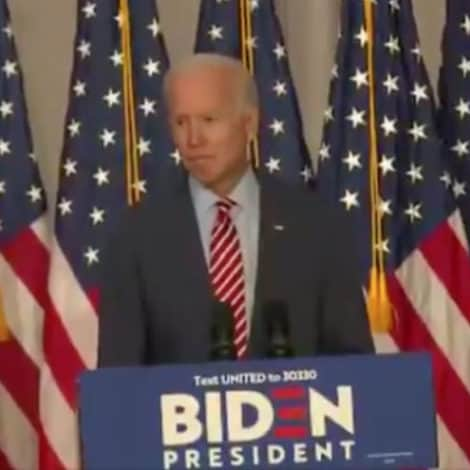 BIDEN ON UKRAINE: 'Want an Example of When a President Abuses His Power… Climate Change'