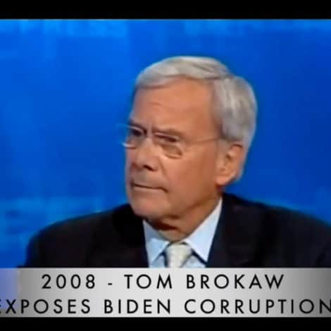 FLASHBACK: Tom Brokaw Calls-Out Biden Corruption… in 2008!