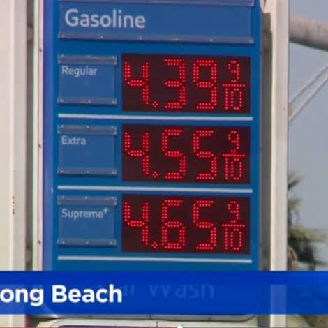 LIBERAL UTOPIA: Average Gas Prices in Southern California Pass $4 Per Gallon