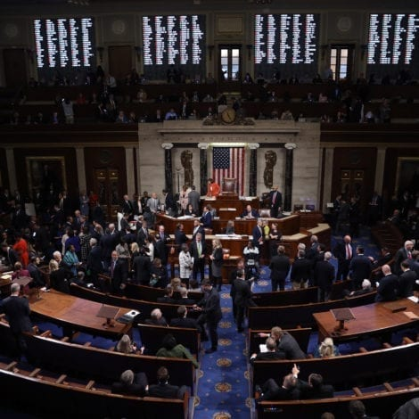 BREAKING: House Approves Formal Impeachment Inquiry Along Party Lines, Two Dems Side with GOP