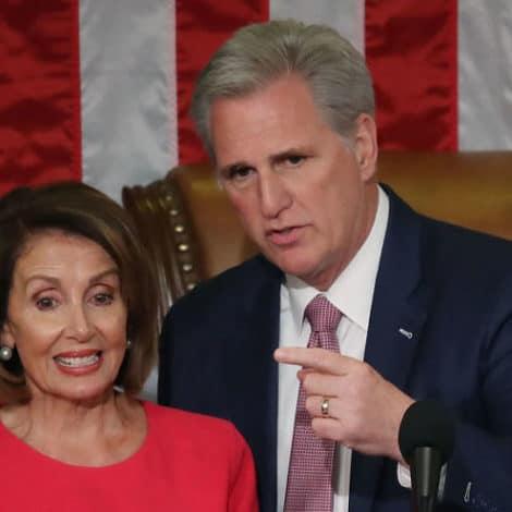 DROP IT: House Minority Leader Kevin McCarthy Demands Pelosi 'Halt the Impeachment Inquiry'