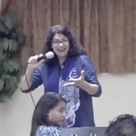 TOWN HALL MELTDOWN: Tlaib Says Democrats 'Trying to Figure Out' How to Arrest Trump Officials