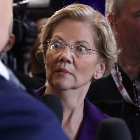 HOT MIC: Elizabeth Warren Caught on Camera Telling CNN's Jake Tapper 'I Can't Say That' to Voters