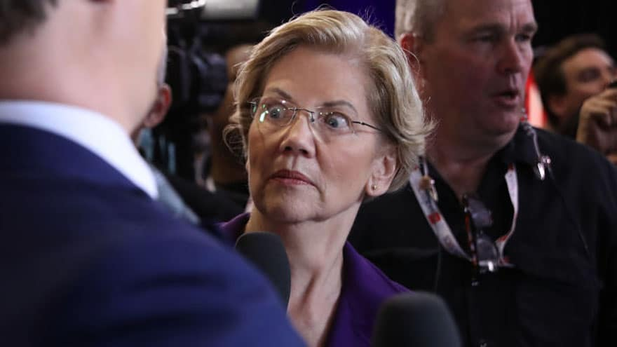 Partner Content - TROUBLE IN WARRENLAND: Sen. Warren 'Shakes-Up Campaign' Pitch as Poll Nu...
