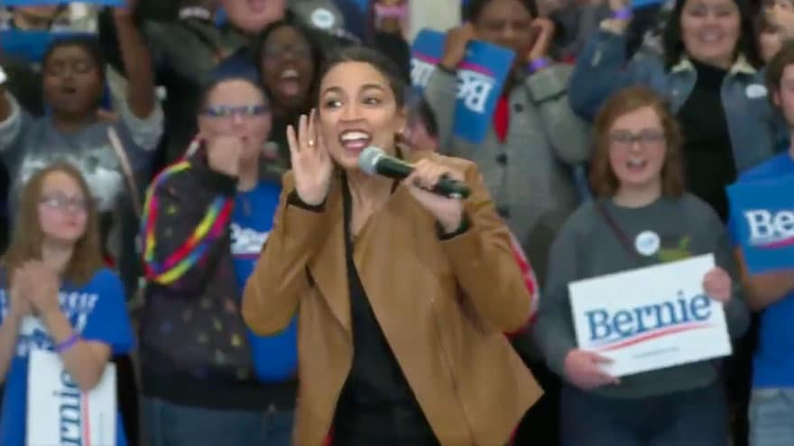 Partner Content - Soviet Style: AOC Asks Bernie Supporters 'Who Here is Ready for the Revo...