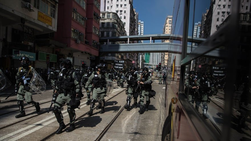 Partner Content - HONG KONG ERUPTS: Police Open-Fire on Protesters, One Demonstrator 'Set ...