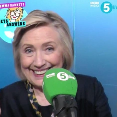 GREEN LIGHT? Hillary Says 'Many, Many' People 'Pressuring' Her to Enter 2020 Race