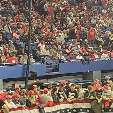 MAGA KENTUCKY: 'Thousands' Wait for Hours to See President Trump LIVE in Lexington