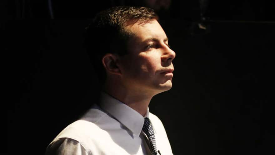Partner Content - SHAKE UP: Mayor Pete Buttigieg Takes 1st Place in Latest Polls from Iowa...